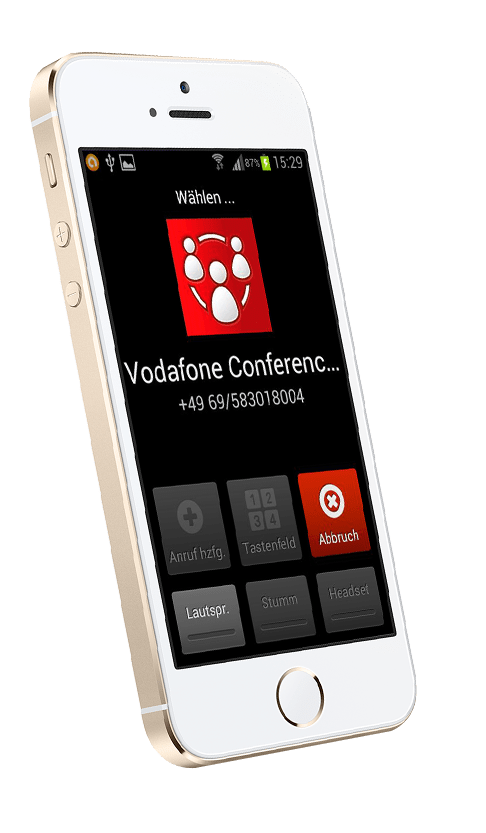 Vodafone-Conference-App